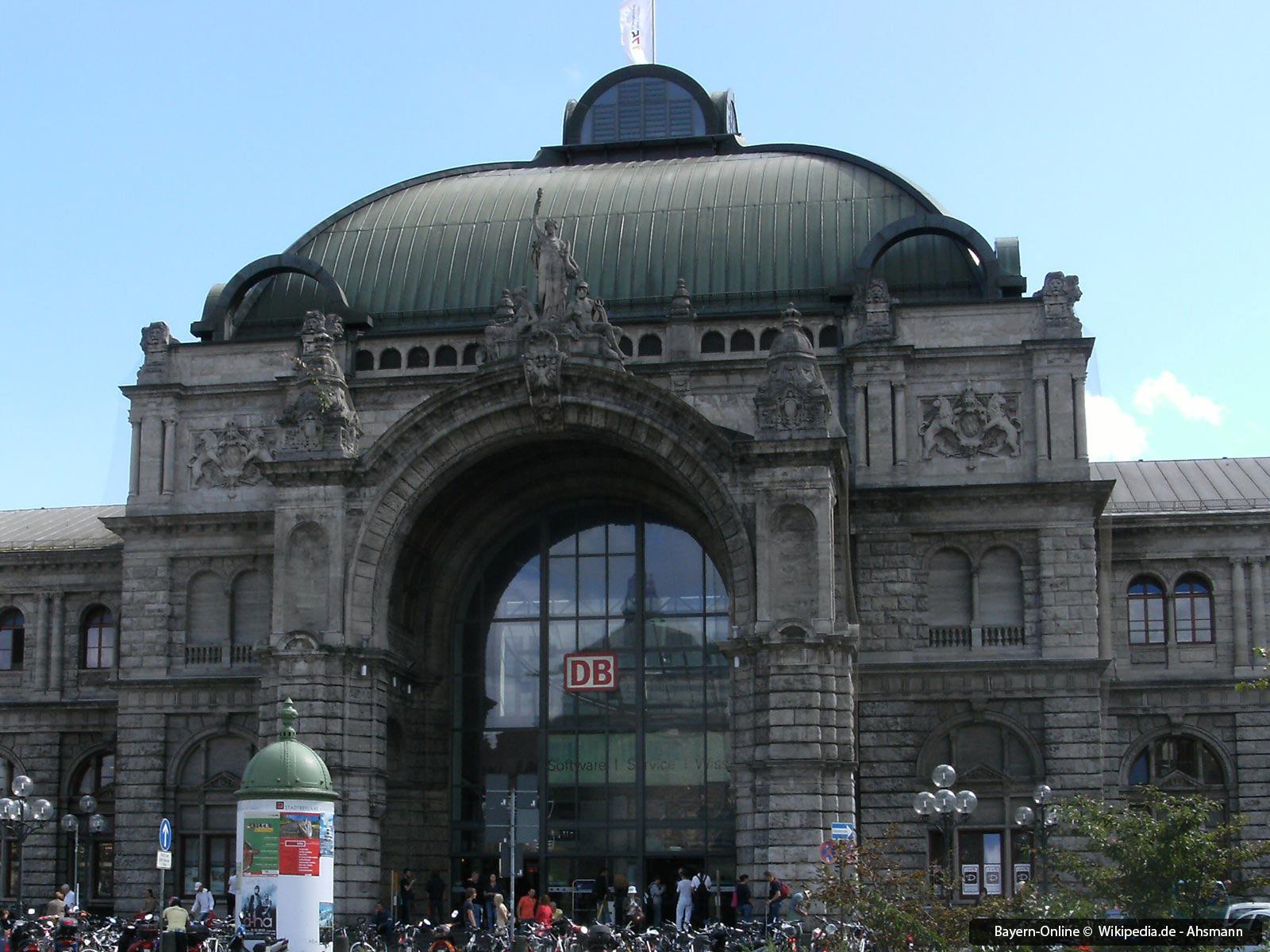 Einkaufen Im N 252 Rnberger Hauptbahnhof