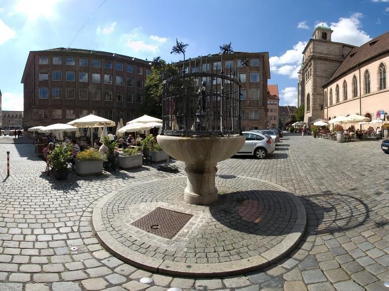 Gänsemännchenbrunnen | Gänsemännchenbrunnen in Nürnberg | Frankenmetropole Nürnberg ...