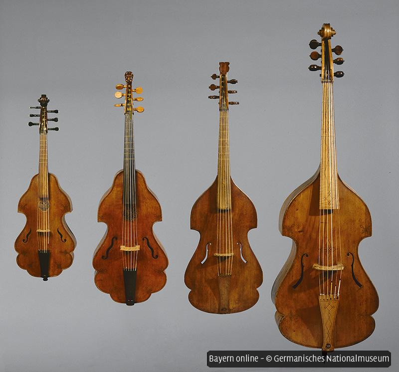 Tagung zur Musikkultur: Violinen und Violen da Gamba